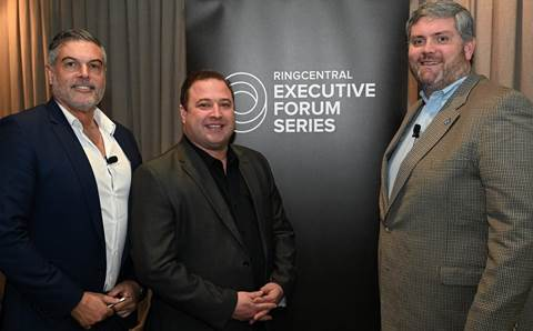 Who was spotted at RingCentral's Executive Forum?