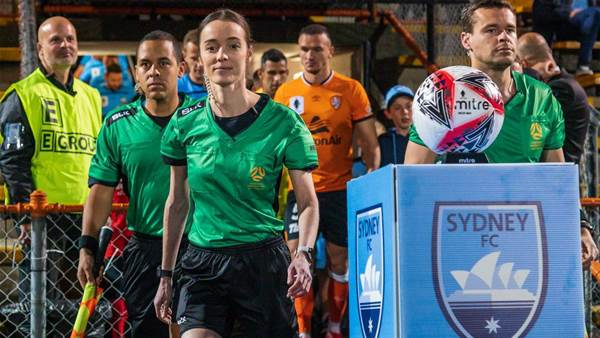 On the sidelines: Roar shock Sydney