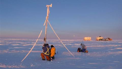 Gallery: The epic four-day Antarctic trek to maintain ONE IoT device