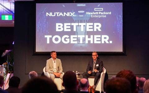 Partners join HPE and Nutanix to talk hybrid cloud