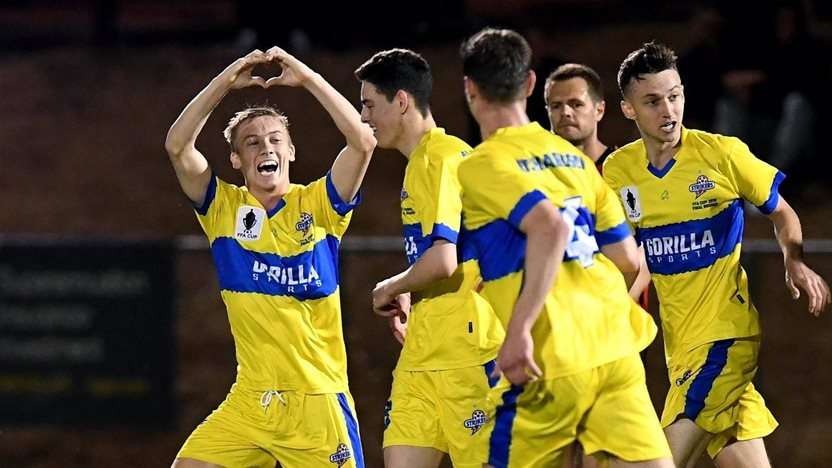 In pics: FFA Cup action