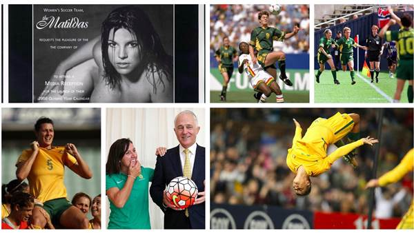 40 Years Of Pioneers: The Greatest Matildas Photos Of All Time
