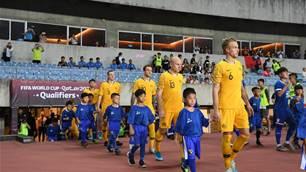In pics: Australia vs Chinese Taipei