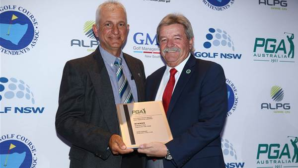 GALLERY: Golf NSW Industry Award Winners