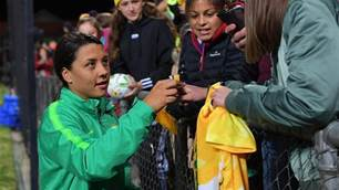 The Best Moments: Re-live another record-breaking Matildas night