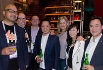 Aussie partners party in Taipei