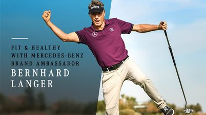 Gallery: Bernhard Langer's 'at home' fitness tips