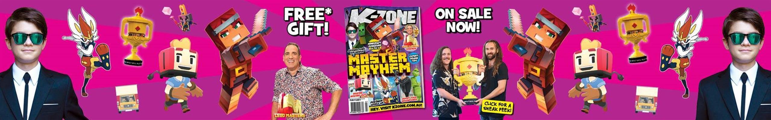 Sneak Peek of July 2020 Master Mayhem Issue