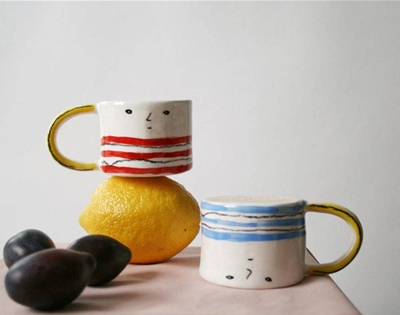 arty ceramics for everyday use