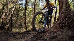 Back between the tape at the Rocky Trail Superflow Nerang