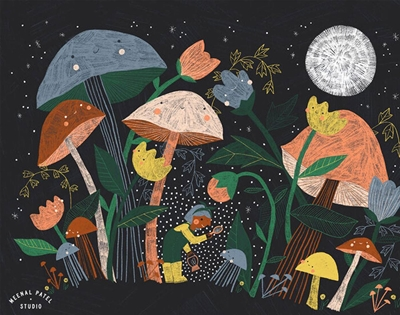 meenal patel's joyful illustrations