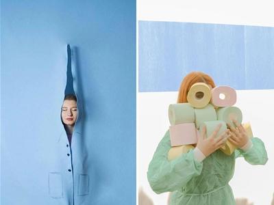 karen khachaturov's snaps walk the line between pretty and weird