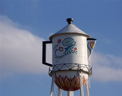 the giant coffee pot