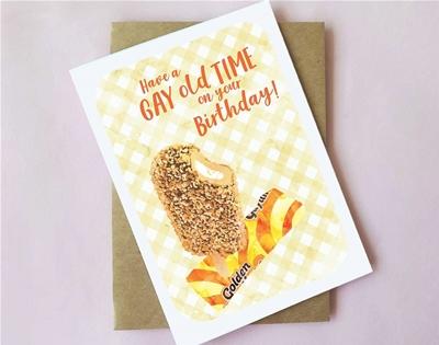milk bar-themed birthday cards
