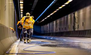 Photos: Aussie Broadband runs dark fibre through Sydney Harbour Tunnel