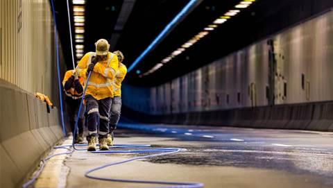 Photos: Aussie Broadband runs dark fibre through Sydney Harbour Tunnel