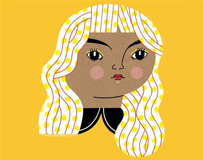 anke weckmann's bold illustrations