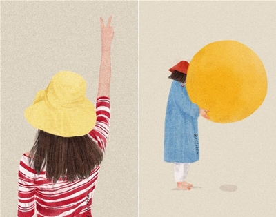 otto kim's quiet illustrations