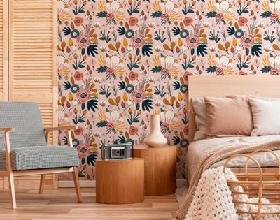ooh! a whole load of removable wallpaper