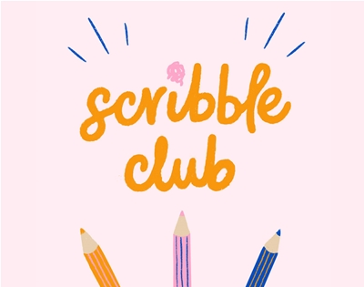 scribble club: april edition