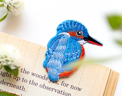 save your page with an embroidered critter