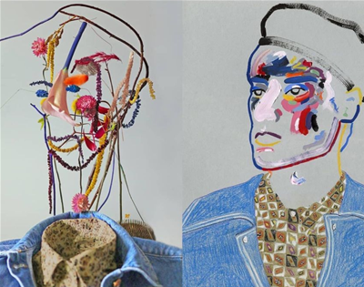 harriet parry turns art into floral arrangements