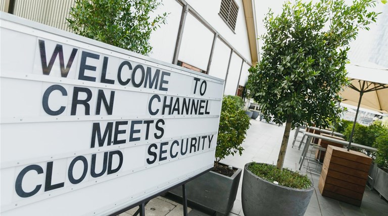 Who was spotted at CRN Channelmeets?