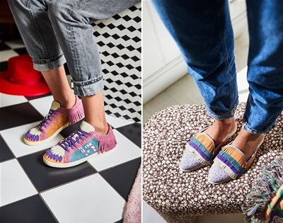 a cute range of kicks from rollie and sage x clare
