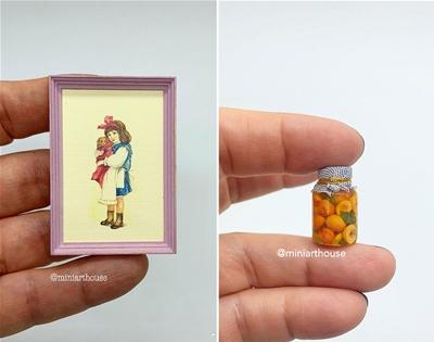 home décor, but make it miniature