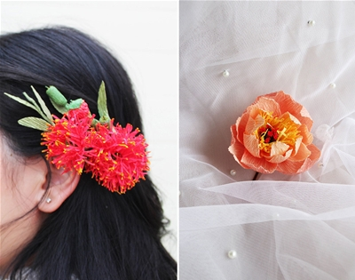 paper flowers you can wear
