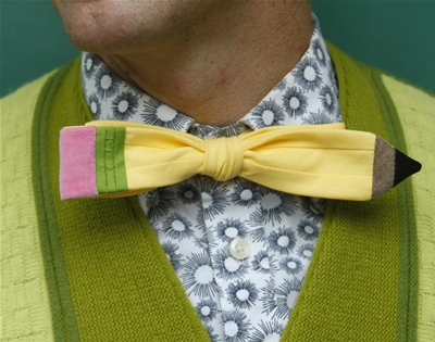 xoelle makes the happiest bow ties we ever did see