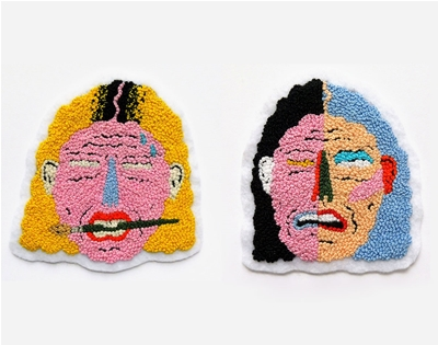 patricia larocque's embroidered patches