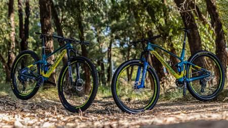 BIKE CHECK: Bec and Dan McConnell's Olympic Mondraker F-Podium bikes