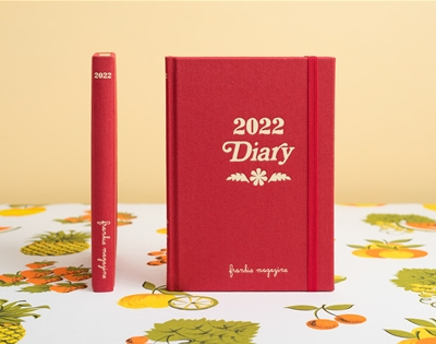 pre-order your 2022 frankie diary and calendar