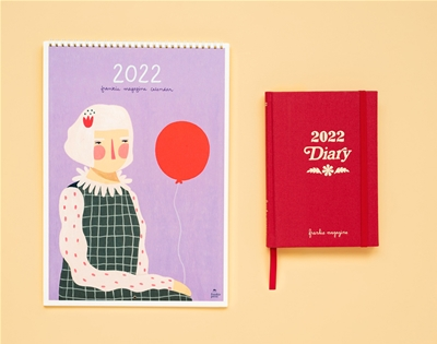 get your mitts on the 2022 frankie diary and calendar