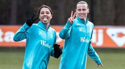 Pic Special: Matildas back on the paddock at last!