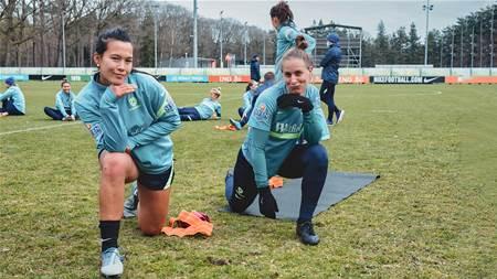 Day 4 Gallery: Matildas in training