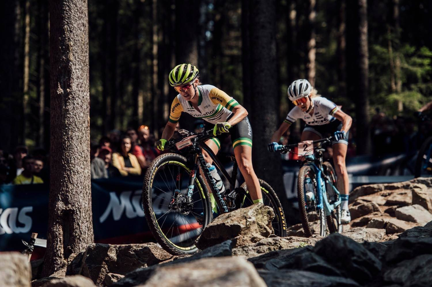 Bec McConnell 2nd at Nove Mesto World Cup!