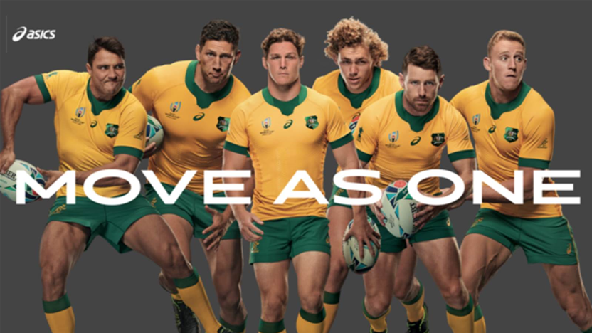 Wallabies reveal their World Cup kit