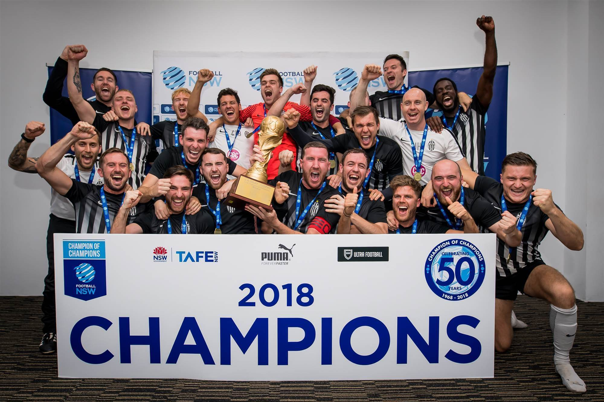Champions of Champions celebrates 50 years!