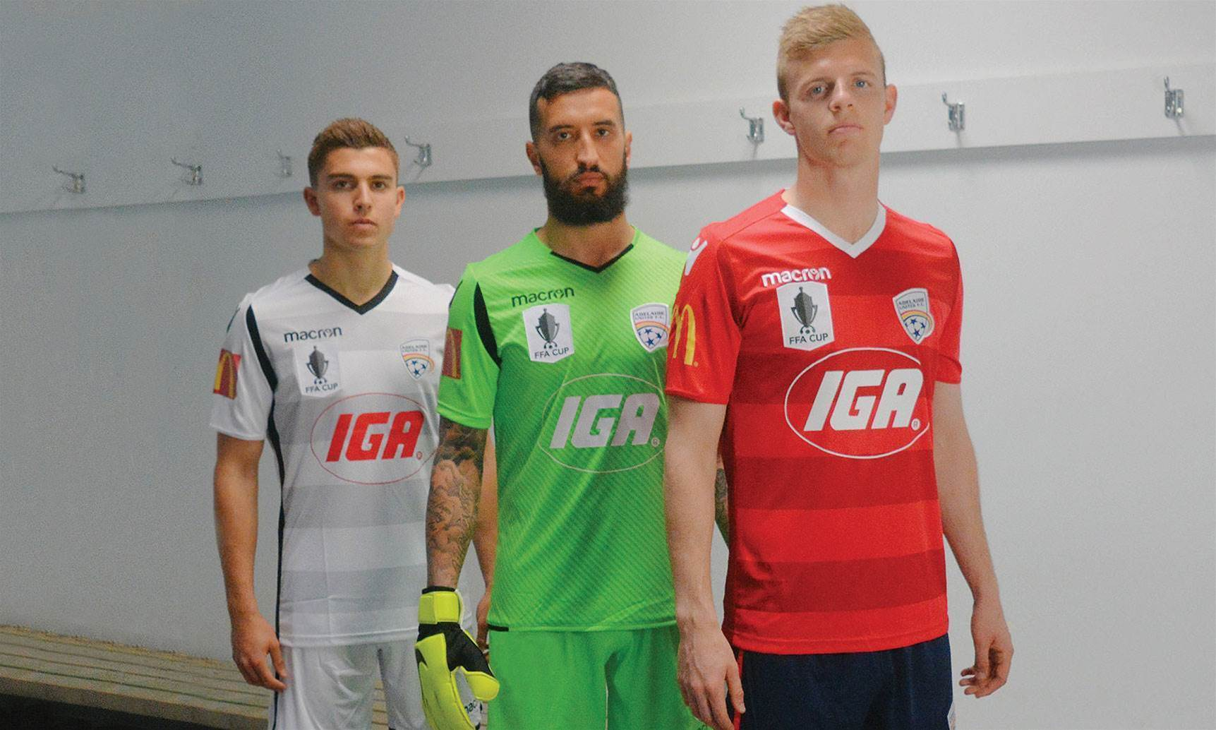 Kit pix: Reds reveal new FFA Cup look