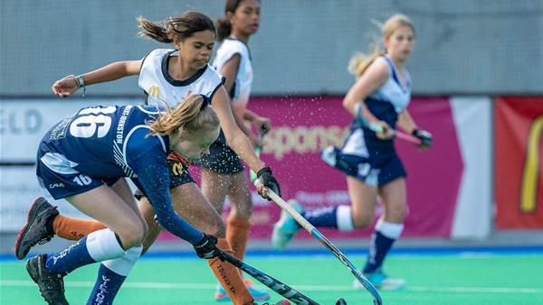 Pic special: Boys and girls hockey action from Australian carnival