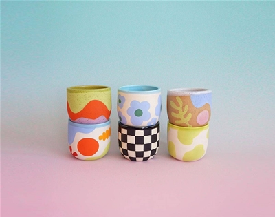 mix-and-match mugs by studio hecha