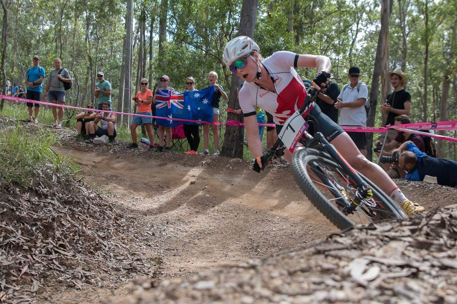 Gallery: Last and Gaze storm Commonwealth Games MTB race