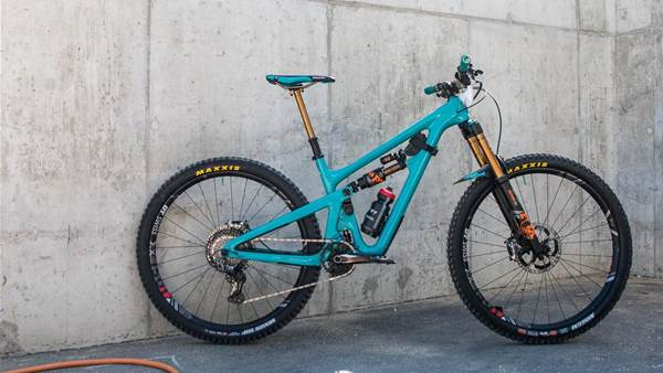 EWS Bike Check: Shawn Neer's Yeti SB150