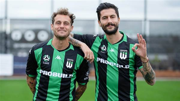 In pics: Alessandro Diamanti joins Western United