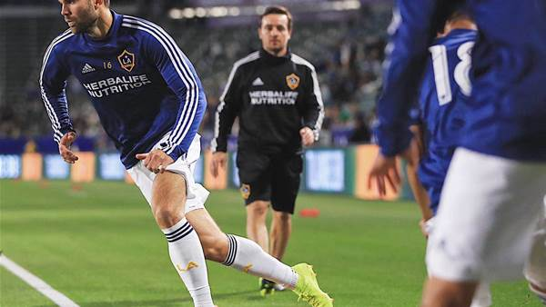 Pic special: Inside LA Galaxy with rising Aussie star