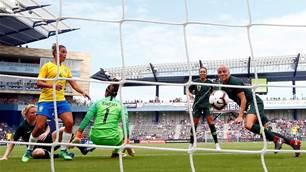 Pic special: Matildas defeat Brazil