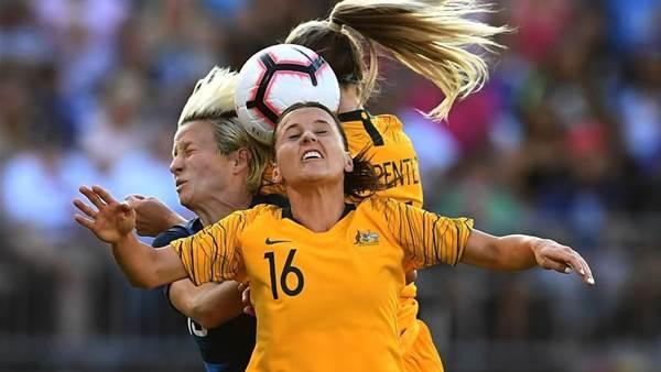 Pic special: Matildas v USA