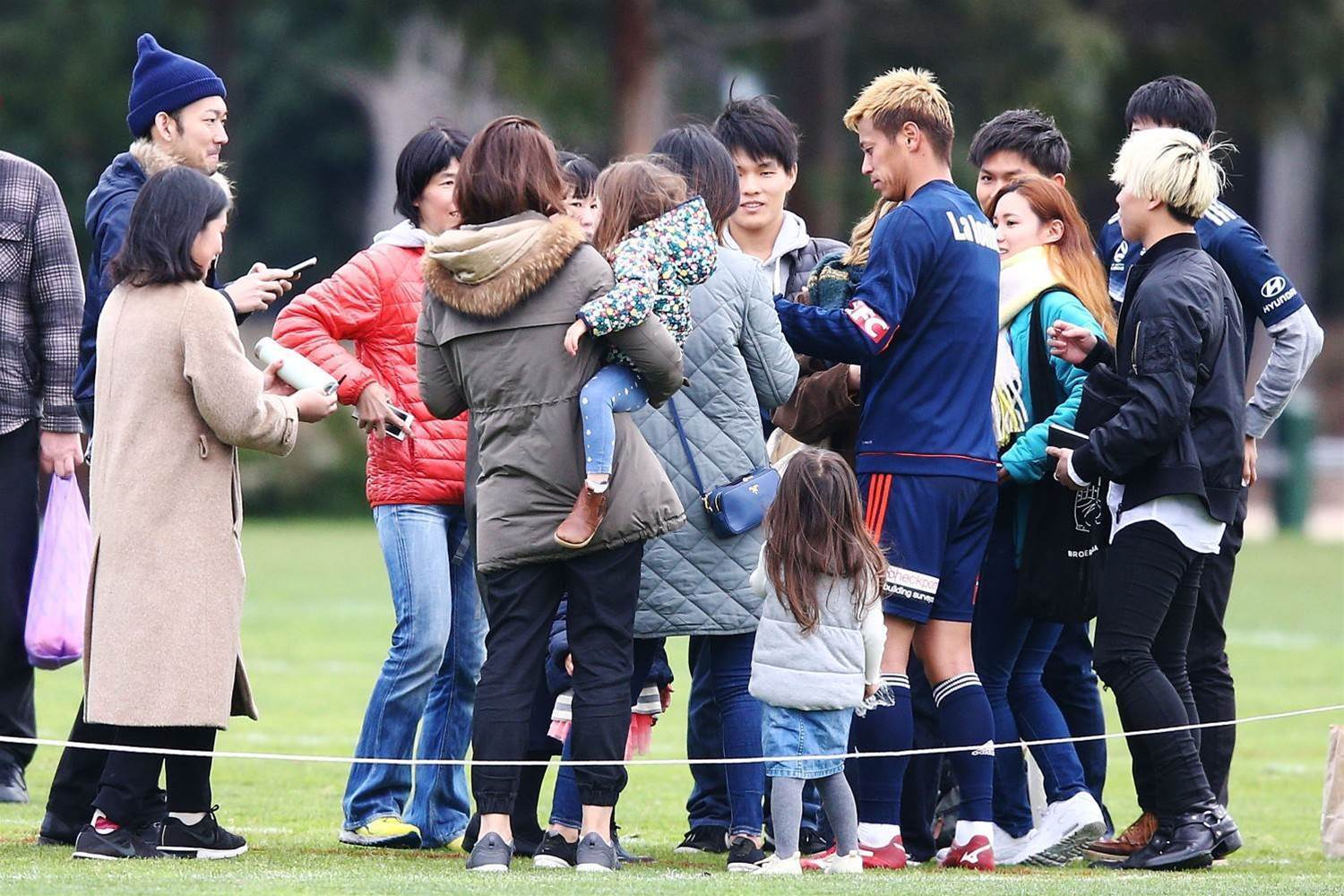 Pic Special: Honda draws fans to Victory training